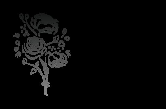 Droogbloemen bouquet :